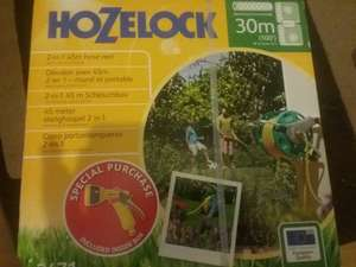 hoselock 30m hose boxed reel £9.99 @ Wickes