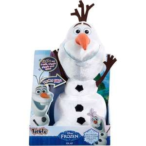 Disney frozen Interactive tickle time Olaf £11.99 free delivery @ eBay by Argos