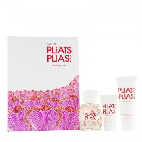 Issey Miyake Pleats Please Eau De Toilette Gift Set 50ml For Women £15 @ Tesco Ebay Outlet