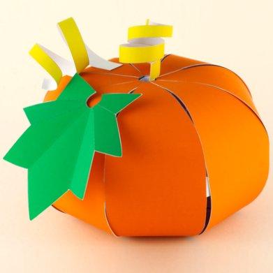 Tearaway Unfolded - Printable Papercraft Halloween Pumpkin by Media Molecule