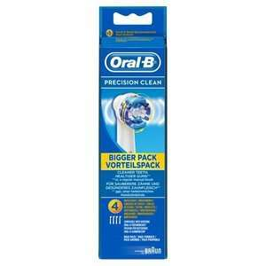 Oral B Precision Tooth Brush Heads x 4 was £16.99 now £7.99 @ Superdrug