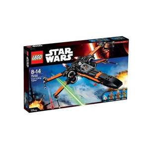 LEGO Star Wars Force Awakens Poe's X-Wing Fighter 75102 at Smyths for £40