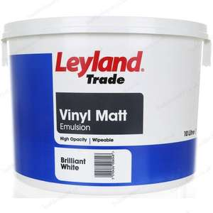 Leyland Trade Contract emulsion paint 3 for £40 .12 litre - £20 each @ B&Q