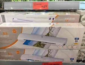 A3 Laminator at Aldi  Was £18.99 reduced to £12.99