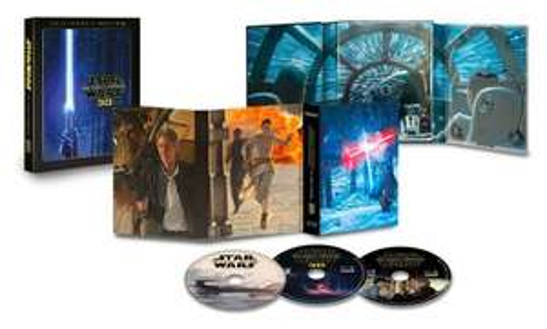 Star Wars: The Force Awakens (3-disc 3D Blu-ray Collectors Editon) - £13.00 prime / £14.99 non prime at Amazon