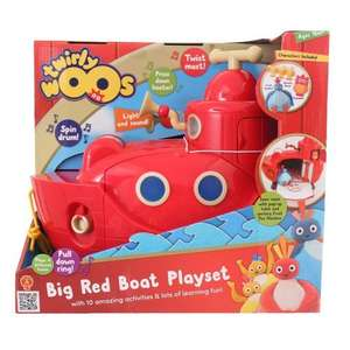 Twirlywoos Big Red Boat £25 instore @ Sainsbury's - Halifax