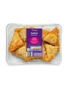 Mini Vegetable Samosas Only 85p @ Aldi