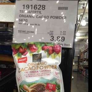 Organic Cacao Powder £3.89 at Costco