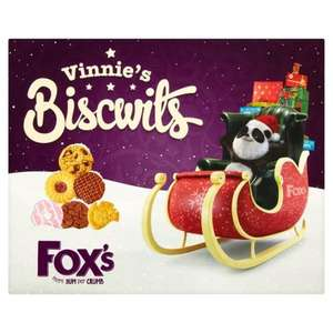 Fox's Vinnie's Biscwits / biscuits selection 365g half price was £3 now £1.50 @ Morrisons