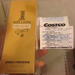 Paco Rabanne 1Million 125ml for Men EDT £29.95 at Coscto