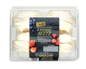 Aldi Specially Selected Meringue Nests 8pk 29p @ Aldi