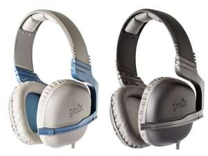 New Polk Audio Striker P1 Gaming Headset For PS4 Xbox360 PC Wii Black/Blue £20 @ Tesco ebay outlet