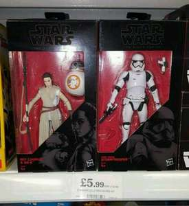 Star Wars Force Awakens Black Series 6 inch figures - £5.99 @ Home Bargains
