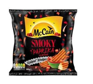McCain Smoky Paprika/McCain Nacho Cheese Wedges 75p In Farmfoods!