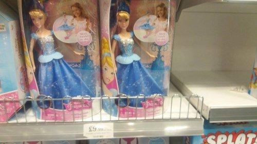 Twirling Skirt Cinderella £9.99 Home Bargains