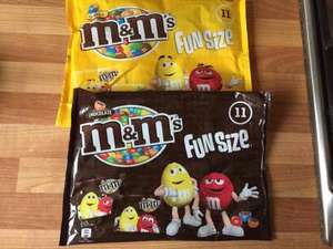 M & Ms funsize pack of 11 bags 70p in Asda