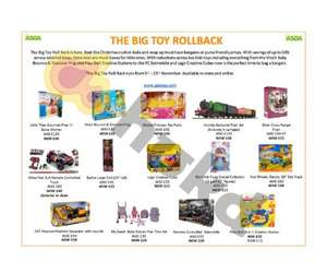 HUGE Asda toy Event  - starts 3rd November online & instore (Examples in post) Lego Creative cube £15 / 60pk Play-Doh £15 + more