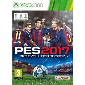 Pro Evolution Soccer 2017  (X360/PS3) £19.95 Delivered @ TheGameCollection
