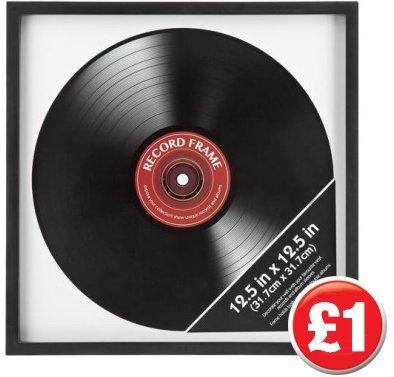 Record frame £1 Poundland