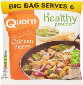 Quorn Meat Free Chicken Style Pieces (500g) was £3.00 now £1.50 @ Sainsbury's
