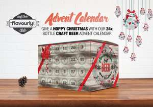 24 craft beer advent calender was £72 now £49 delivered using code @ Flavourly.com