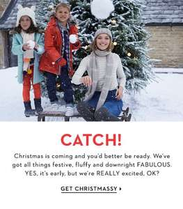 15% off all non sale items increasing to 20% when you spend £100 plus free delivery & returns until 20th November @ Boden
