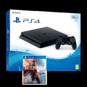 PS4 Slim 500GB Black Console + Battlefield 1 + One Extra Game £229.85 @ ShopTo
