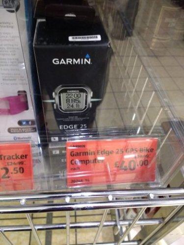 Garmin edge 25 reduced to £40 @ Aldi
