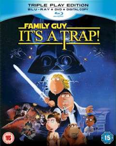 Family Guy Presents: It's a Trap (Blu Ray) Triple Play Edition £2.19 @ musicMagpie