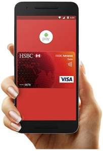Get £10 cashback when you use Android Pay [HSBC]