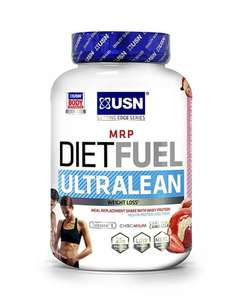 USN Diet Fuel 2kg Weight Loss Shake - Strawberry -From the Argos Shop £8.99