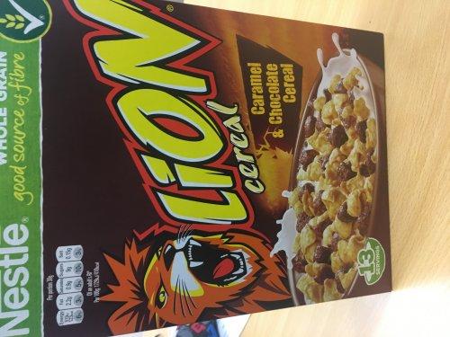 400g lion cereal £1 poundland instore only