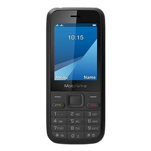 Free MobiWire Pictor Basic Phone when topped by £10 EE shop