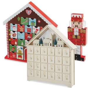 ALDI wooden advent calendar - £8.99