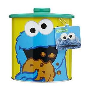 Cookie Monster Jar Gift Set £10.00 Tesco Direct Click and Collect for FREE