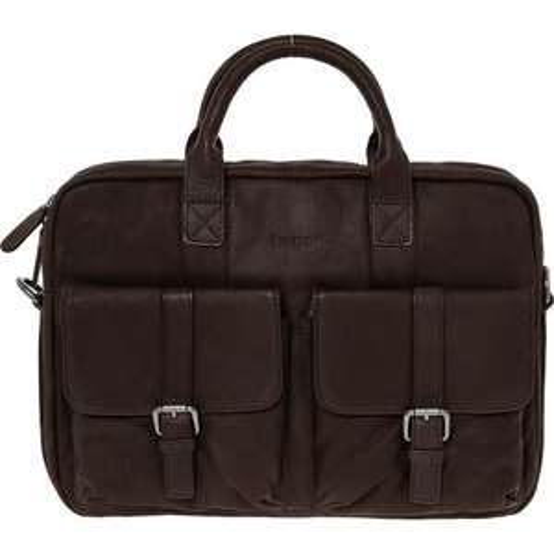 BUGATTI Black or Brown Leather Messenger Bag @ TK Maxx - £58