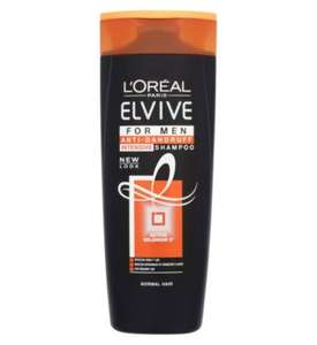 L'Oréal Elvive Men Anti-Dandruff Shampoo 400ml 3 for £4 at Boots