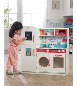 Personlised childrens wooden kitchen 70% off £49.99 / £54.99 delivered @ Studio