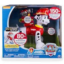 Paw Patrol Zoomer Marshall reduced to £50 at Asda direct free c+c or £2.95 delivery