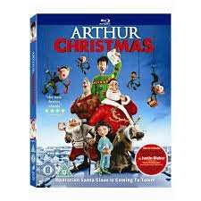 Arthur Christmas blu-ray £1 in Poundland