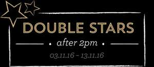 Double Stars Promotion - Starbucks after 2pm
