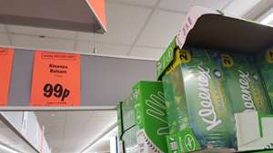 A deal not to be sniffed at! 2 pack of Kleenex Balsam tissues only 99p at Lidl
