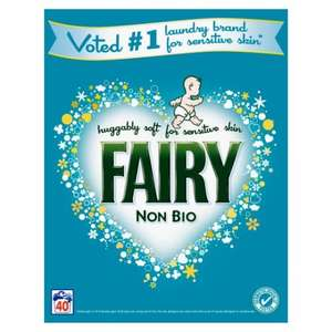 Fairy 40 Washes £5.50 at Tesco online and instore