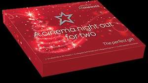 Cineworld Christmas Giftbox - £25 at the cinema or £29.50 delivered