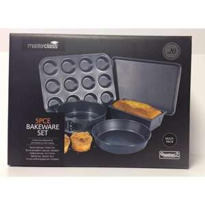 Master Class Non-Stick Bakeware Set Was £39.99 Now £12 @ Ocado