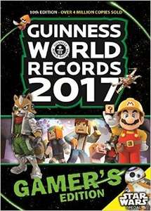 Guinness book of records gamers edition 2017 £4.50 in Tesco
