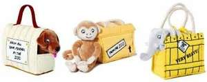 "Dear Zoo elephant, lion, dog & monkey 8"" toys with cages were £16.99 each now £8.29 delivered @ Hive"