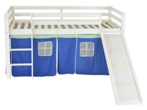 Kids mid sleeper with slide and tent £119.99 delivered @ Brown Source Ltd / Ebay