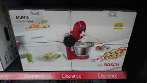 Bosch MUM 5 Creation line mixer @ Tesco for 149.50
