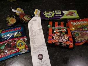 Loads of Halloween Goodies, 25p at Tesco